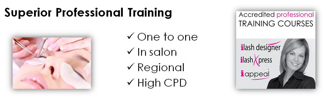 Professional Accredited Eyelash Extension Training